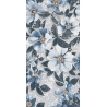 SG591002R | Rosella blue decorated rectified
