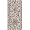 SG590802R| Mosaic beige decorated rectified
