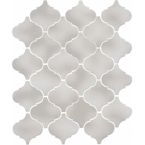 65011|Arabesques majolica light grey akmens masės mozaika